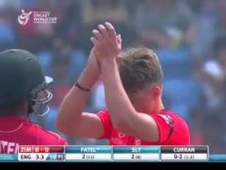 Match Highlights England v Zim ICC Under 19 World Cup 2016