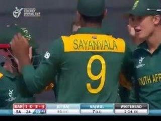 Match highlights – South Africa vs Bangladesh ICC Under 19 World Cup 2016