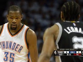 San Antonio Spurs vs Oklahoma City Thunder - Game 4 - Full Highlights May 8