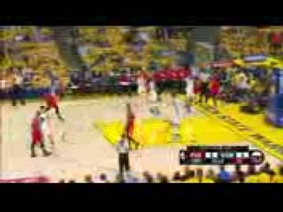 Portland Trail Blazers vs Golden State Warriors - Game 5 - 1st Half Highlights 2016 NBA Playoffs