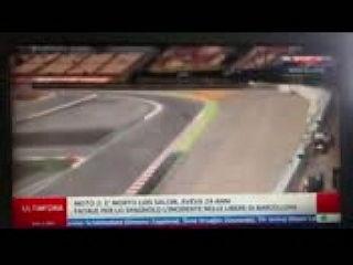 Moto2 : Luis Salom muore a Barcellona