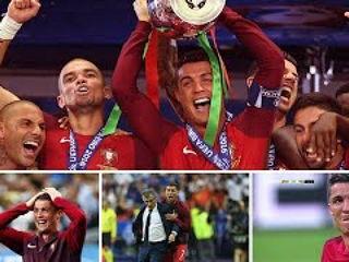 Cristiano Ronaldo UEFA EURO 2016 FINAL