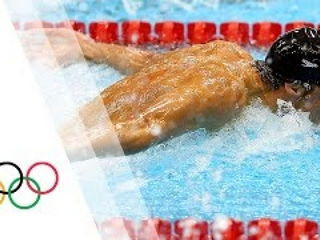 Michael Phelps wins 15th Gold - Men's 100m Butterfly London 2012 Olympics Games
