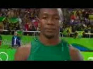 Usain Bolt in 100m Final - Olympics Rio 2016
