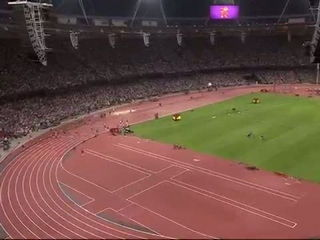 Usain Bolt Wins 200m Final London 2012 Olympics