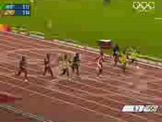 Usain Bolt Breaks 3 World Records Beijing 2008 Olympics