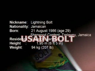 Usain Bolt The Human Cheetah Unbelievable Figures Rio Olypics 2016