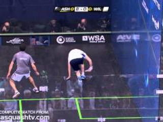 Is this Ramy's best single game of squash ever!!