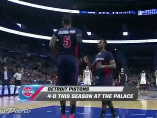Oklahoma City Thunder vs Detroit Pistons