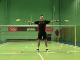 Pete Stokes - Badminton Legend With Many Tricks
