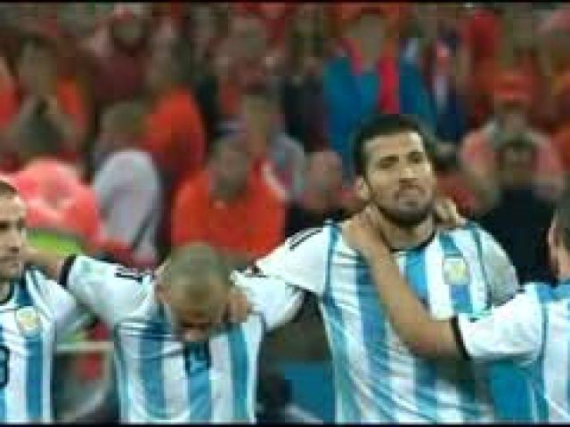 Netherlands vs Argentina 0-0 (2-4)