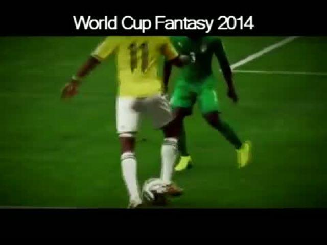 World Cup 2014 Crazy Skills Show