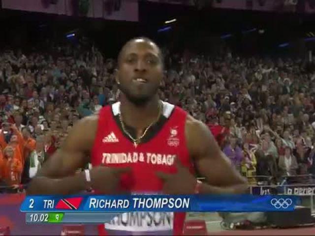 Usain Bolt Wins Olympic 100m Gold - London 2012 Olympics
