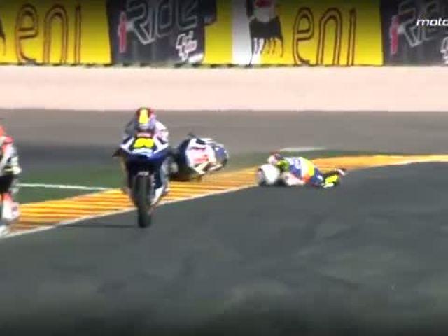 MotoGP™ Valencia 2014 – Biggest crashes