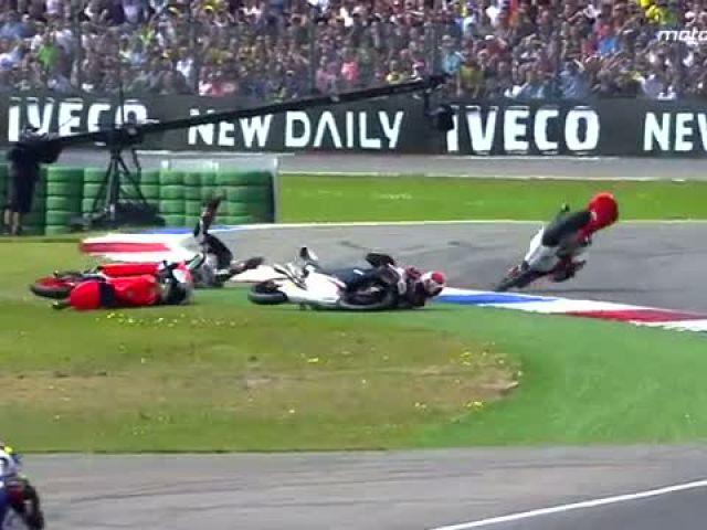 Moto3™ 2014 Biggest crashes