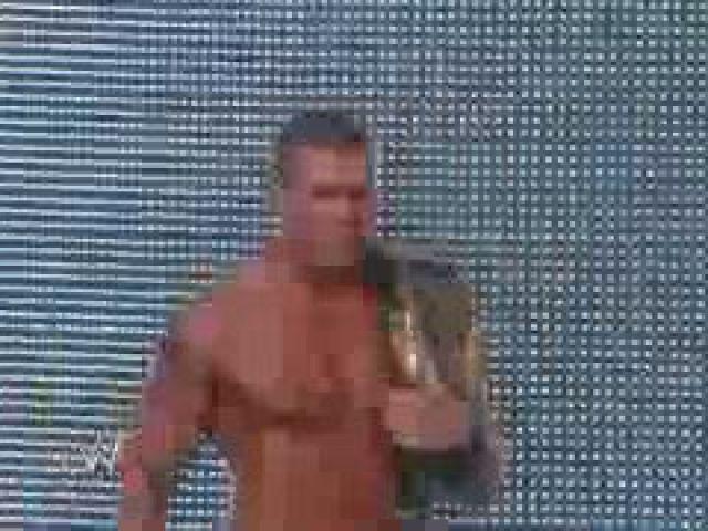John Cena & Randy Orton battle the entire Raw roster (1)