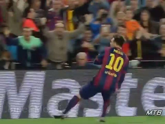 Lionel Messi - Top 10 Craziest Goals - 2014-2015