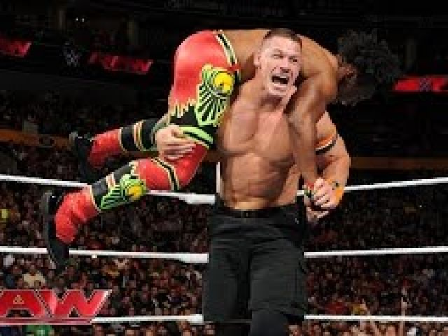John Cena vs. Xavier Wood