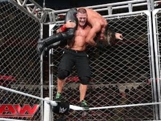 John Cena vs. Seth Rollins - WWE Steel Cage Match