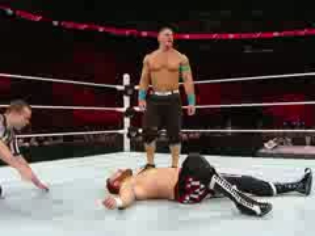John Cena vs. Sami Zayn – WWE United States Championship Match