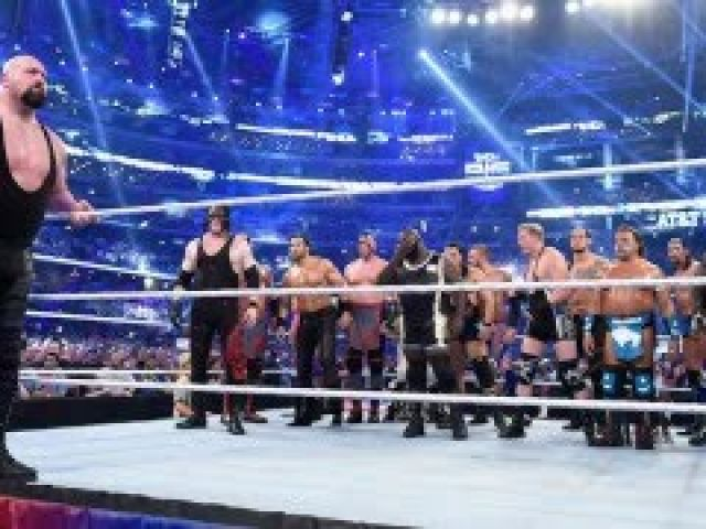 WWE WrestleMania 32 Andre the Giant Memorial Battle Royal Match Highlights
