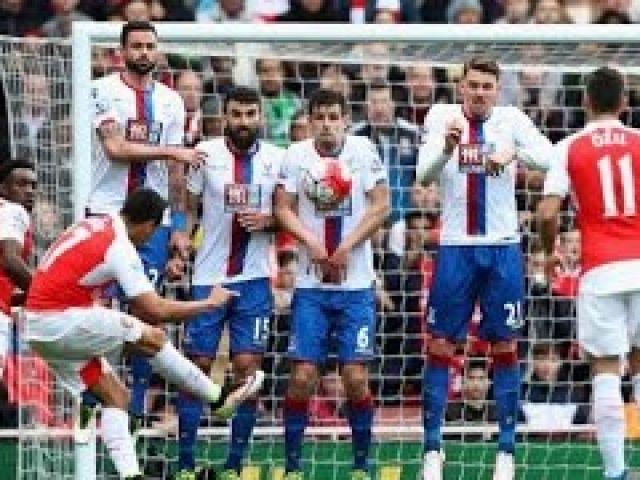 Arsenal vs Crystal Palace 1-1 2016 All Goals & Highlights