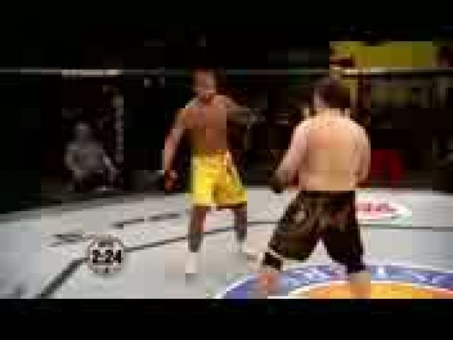 MMA Fights Ends Badly after provocation