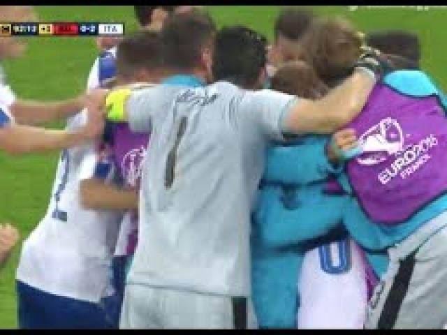 Belgium vs Italy 0-2 (EURO 2016) All Goals & Full Highlights