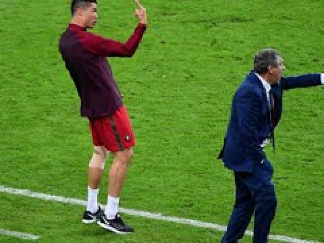 Cristiano Ronaldo Coaching Euro 2016 Final - Funny Moments