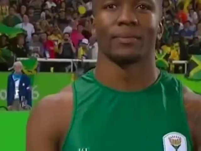 Usain Bolt in 100m Final - Olympics Rio 2016