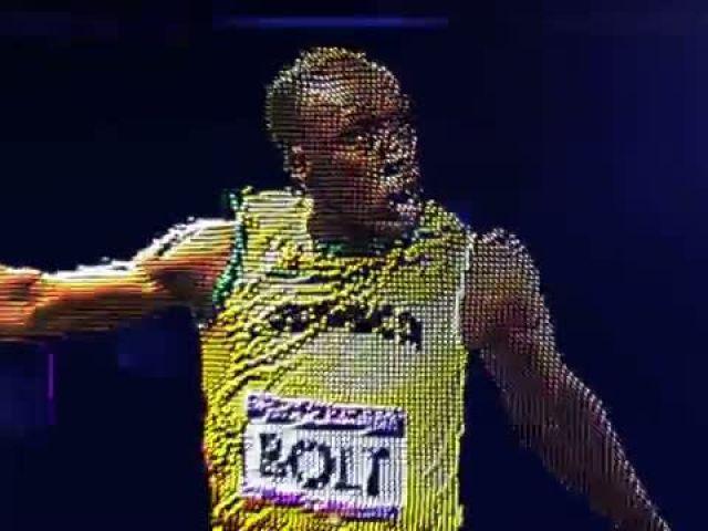 Usain Bolt JAM Mens 100m 200m 4x100m Champions of London 2012