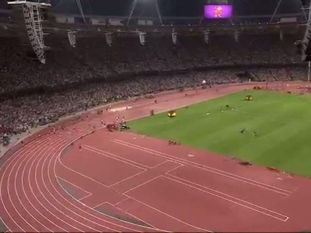 Usain Bolt Wins 200m Final London 2012 Olympics