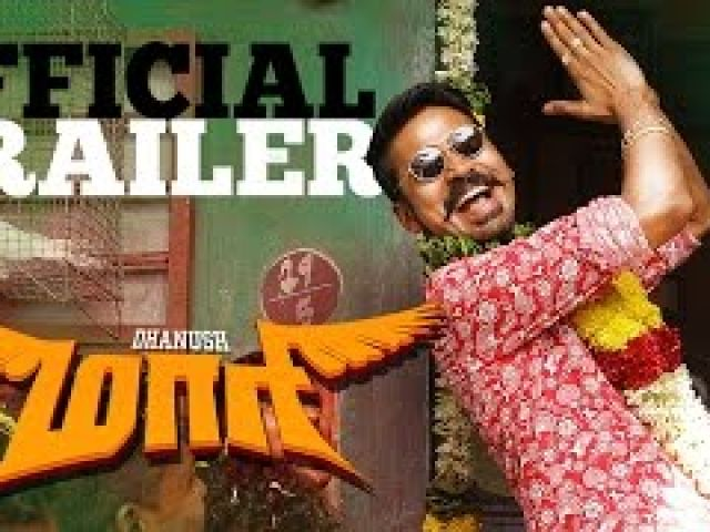Maari - Official Trailer Dhanush