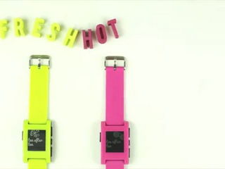 NEW Limited Edition Pebble Smart Watch Colors