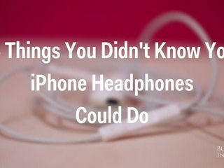 14 things you didn t know your iPhone headphones could do