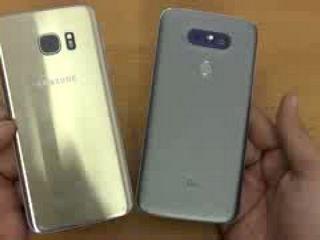 LG G5 vs Samsung Galaxy S7 Edge - Speed Test