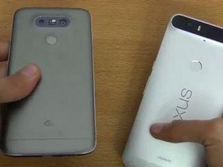 LG G5 vs Nexus 6P - Speed Test