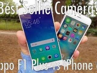 Oppo F1 Plus vs iPhone 6S: Selfie Camera Battle