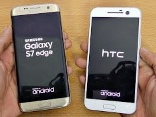 HTC 10 vs Samsung Galaxy S7 Edge - Speed Test! (4K)