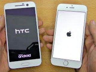 HTC 10 vs iPhone 6S - Speed Test! (4K)