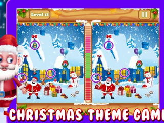Santa Spot The Differences - iOS-Android Gameplay Trailer By Gameiva