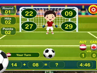 Soccer Maths For Toddlers - iOS-Android Gameplay Trailer By Gameiva