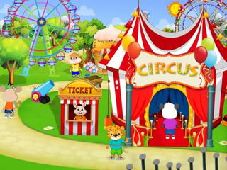 Funfair Animals For Kids - iOS-Android Gameplay Trailer By Gameiva