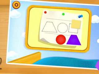 Kids Learning Shapes & Color - iOS-Android Gameplay Trailer By Gameiva