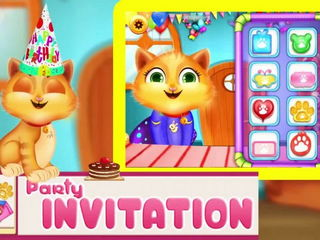 Kitty Birthday Party - iOS-Android Gameplay Trailer By Gameiva