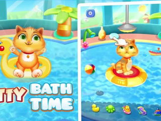 Kitty Care And Salon - iOS-Android Gameplay Trailer By Gameiva