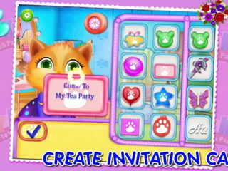 My Kitty Tea Party - iOS-Android Gameplay Trailer By Gameiva