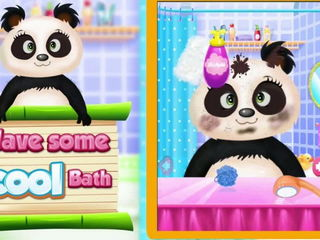 Panda Care & Beauty Salon - iOS-Android Gameplay Trailer By Gameiva