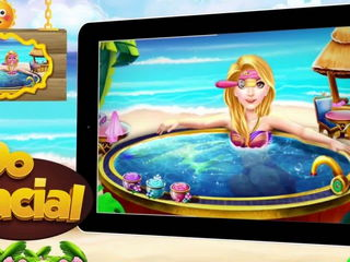 Princess Swimming Pool Celebration - iOS-Android Gameplay Trailer By Gameiva
