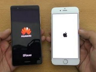 Huawei P9 vs iPhone 6S - Speed Test!